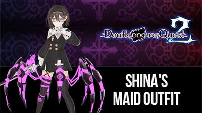 Death end re;Quest 2 - Shina's Maid Outfit - DLC