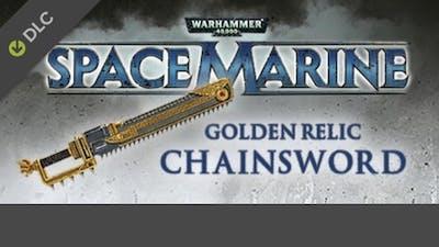 Warhammer 40,000: Space Marine - Golden Relic Chainsword DLC