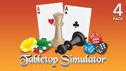 Deals on Tabletop Simulator 4 Pack PC Digital