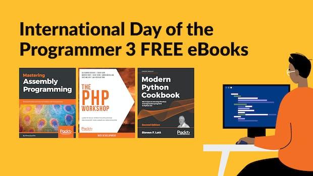 International Day of the Programmer Bundle Giveaway 3 eBooks