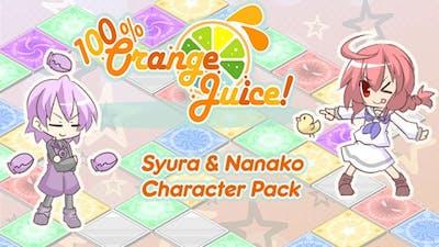 100% Orange Juice - Syura & Nanako Character Pack - DLC