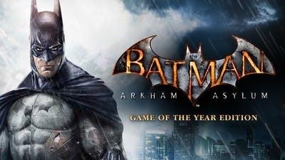 Batman Arkham Asylum: Game of the Year Edition