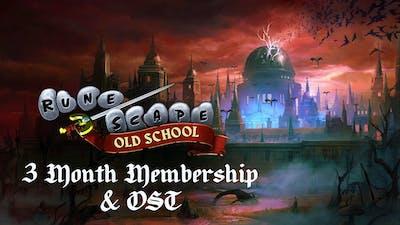 Old School RuneScape 3-Month Membership + OST