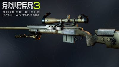 Sniper Ghost Warrior 3 - Sniper Rifle McMillan TAC-338A DLC