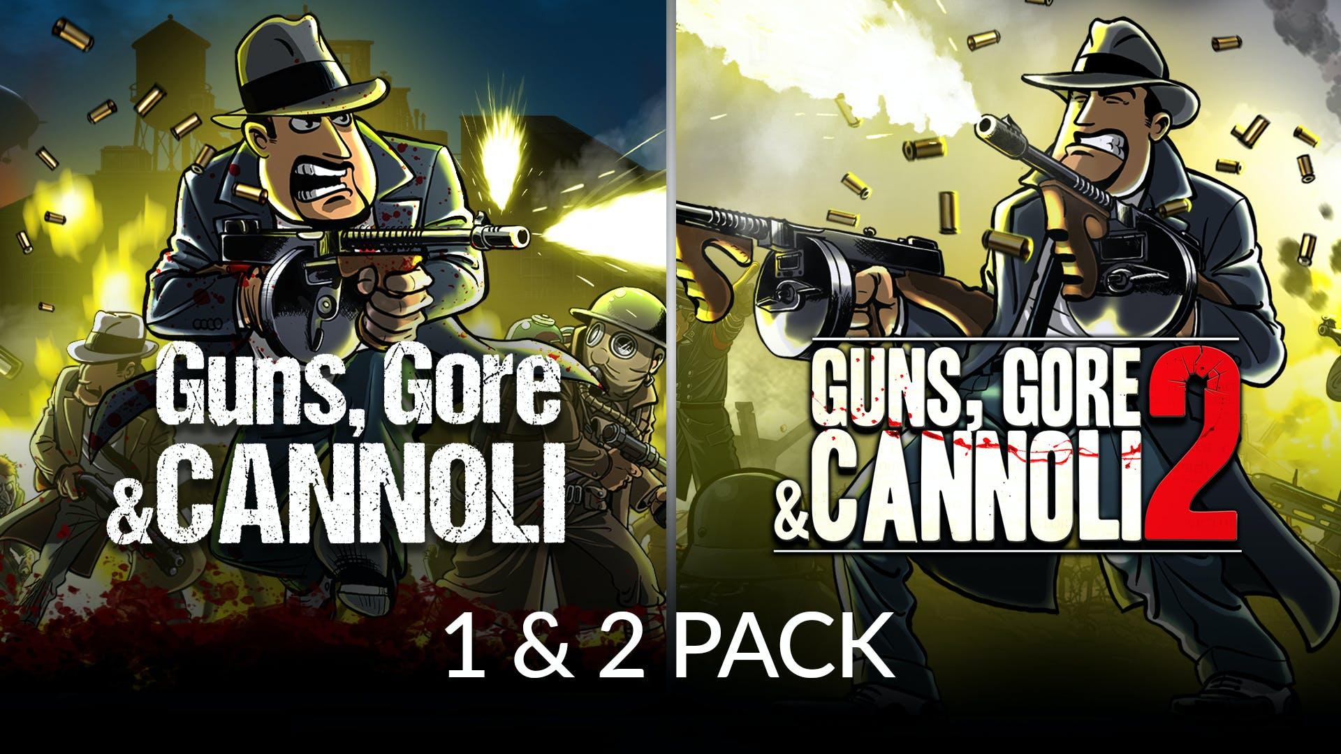 Guns, Gore & Cannoli 1 + 2 Pack