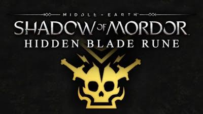 Middle-earth: Shadow of Mordor - Hidden Blade Rune DLC