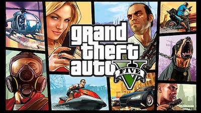 Grand Theft Auto V Pc Rockstar Social Club Game Fanatical