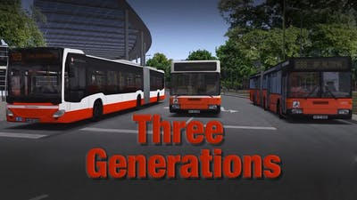 OMSI 2 Add-on Three Generations - DLC