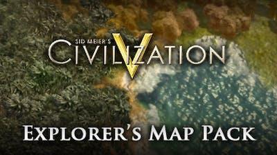 Civilization V: Explorer's  Map Pack DLC