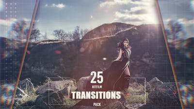 25 HitFilm Transitions Pack