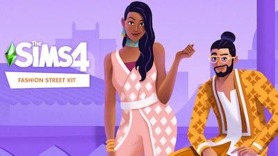 The Sims 4 Fashion Street Kit - DLC
