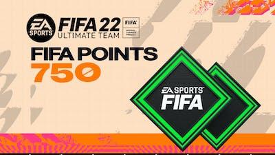FIFA 22 ULTIMATE TEAM FIFA POINTS 750