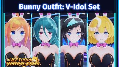 Neptunia Virtual Stars - Bunny Outfit: V-Idol Set