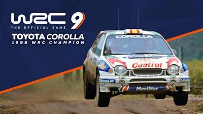 WRC 9 Toyota Corolla 1999 - DLC