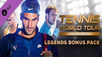 Tennis World Tour - Legends Bonus Pack - DLC