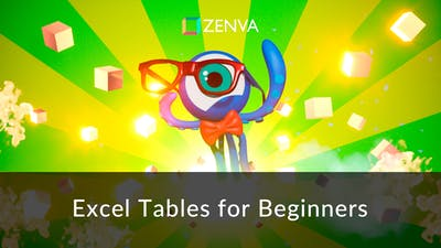 Excel Tables for Beginners