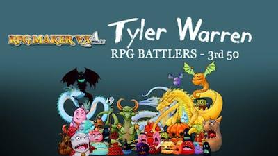 RPG Maker VX Ace: Tyler Warren's 3rd 50 Battler Pack