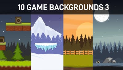 10 Game Backgrounds 3
