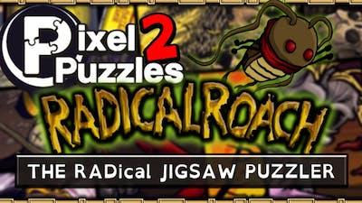 Pixel Puzzles 2: RADical ROACH