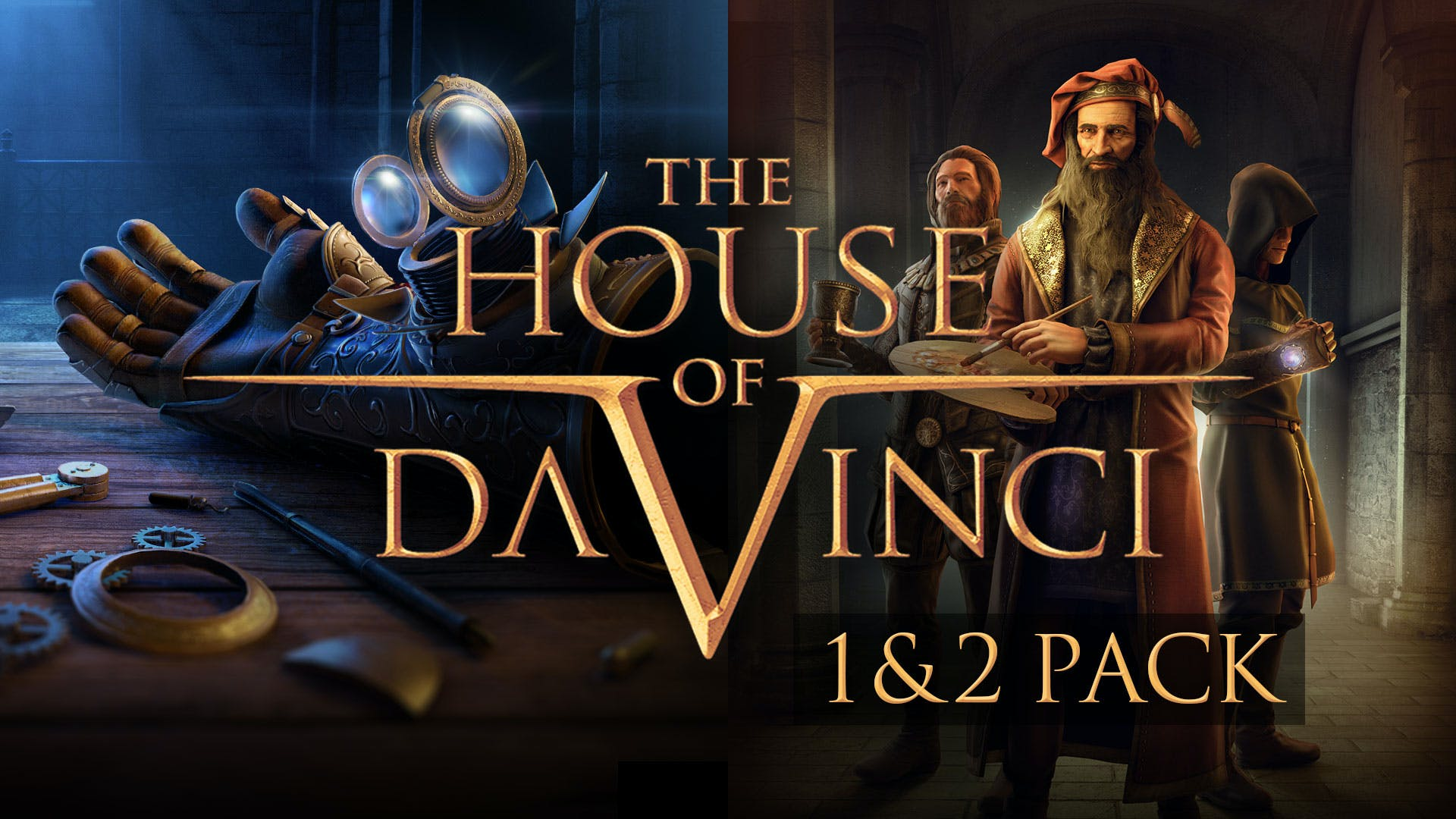 The House of Da Vinci 1 + 2 Pack