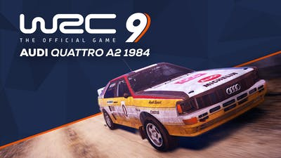 WRC 9 Audi Quattro A2 1984 - DLC