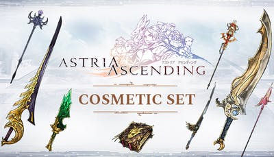 Astria Ascending - Cosmetic Weapon Set - DLC
