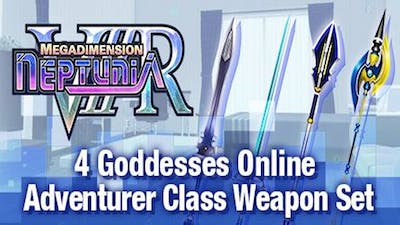 Megadimension Neptunia VIIR - 4 Goddesses Online Adventurer Class Weapon Set