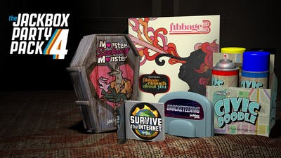 The Jackbox Party Pack 4 | Mac PC Steam Game | Fanatical