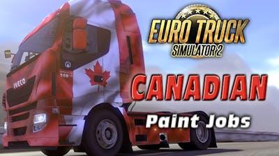 Euro Truck Simulator 2 - Canadian Paint Jobs Pack DLC