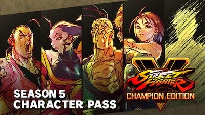 Street Fighter V - Season 5 Character Pass - DLC