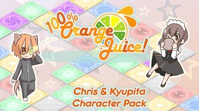 100% Orange Juice - Chris & Kyupita Character Pack - DLC