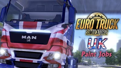 Euro Truck Simulator 2 - UK Paint Jobs Pack DLC