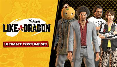 Yakuza: Like a Dragon Ultimate Costume Set