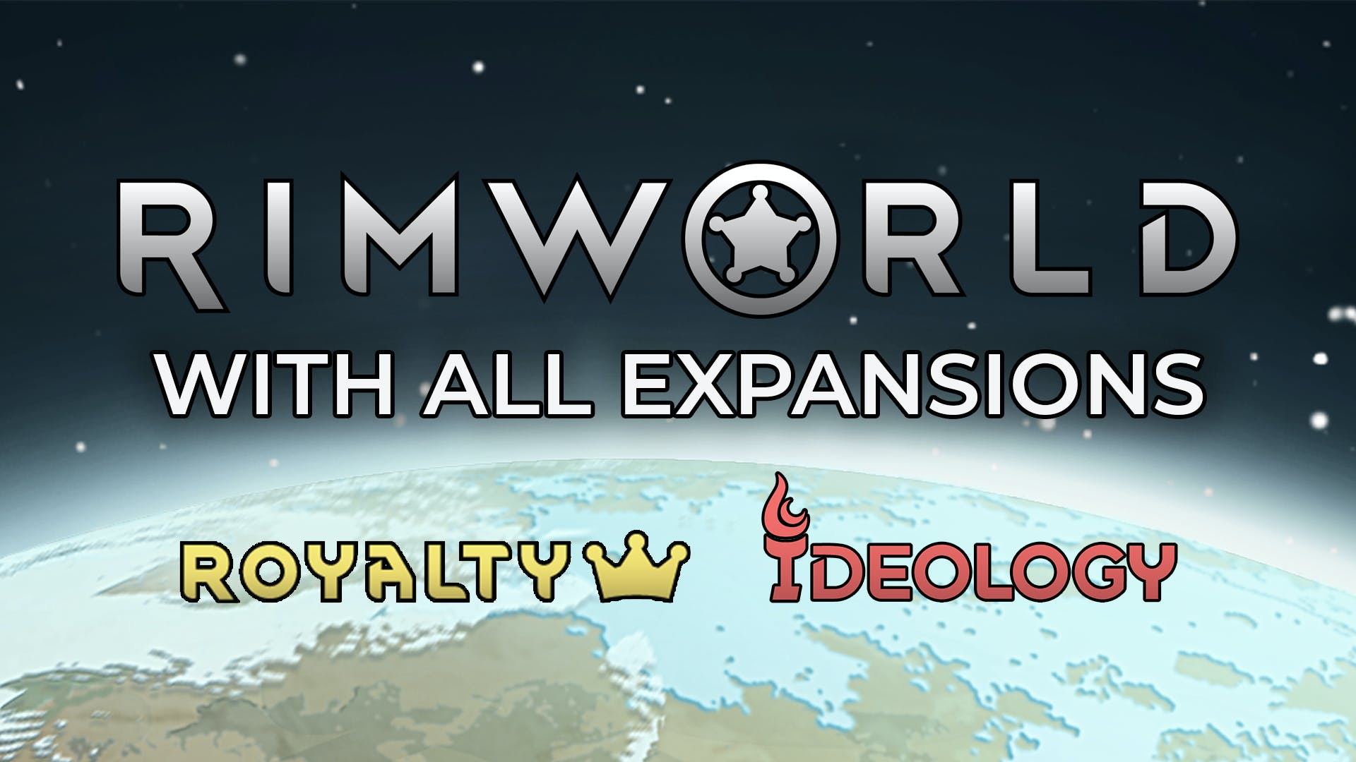 RIMWORLD WITH ALL EXPANSIONS