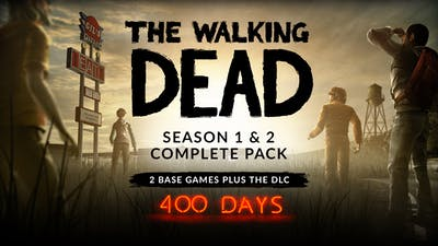 The Walking Dead Season 1 & 2 Complete Pack