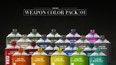 PAYDAY 2: Weapon Color Pack 1