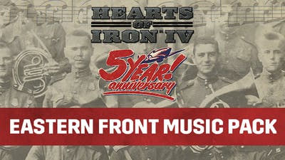 Hearts of Iron IV: Eastern Front Music Pack - DLC