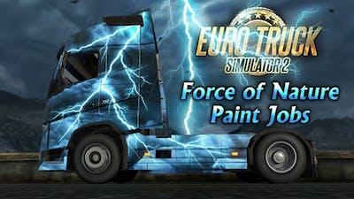 Euro Truck Simulator 2 - Force of Nature Paint Jobs Pack DLC