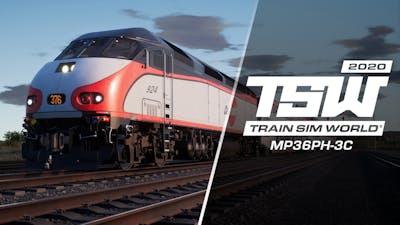 Train Sim World: Caltrain MP36PH-3C 'Baby Bullet' Loco Add-On