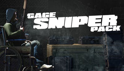 PAYDAY 2: Gage Sniper Pack