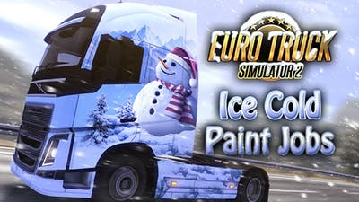 Euro Truck Simulator 2 - Ice Cold Paint Jobs Pack DLC