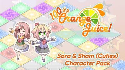 100% Orange Juice - Sora & Sham (Cuties) Character Pack