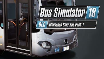 Bus Simulator 18 - Mercedes-Benz Bus Pack 1 - DLC