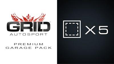 GRID Autosport - Premium Garage Pack