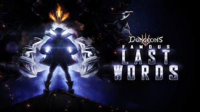 Dungeons 3 - Famous Last Words - DLC