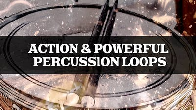 Action Percussion Loops
