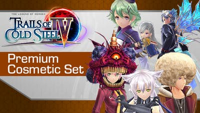The Legend of Heroes: Trails of Cold Steel IV - Premium Cosmetic Set