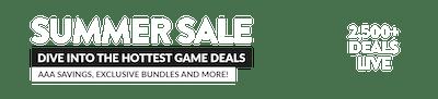 Summer Sale Takeover Header