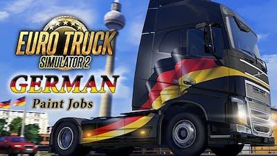 Euro Truck Simulator 2 - German Paint Jobs Pack DLC