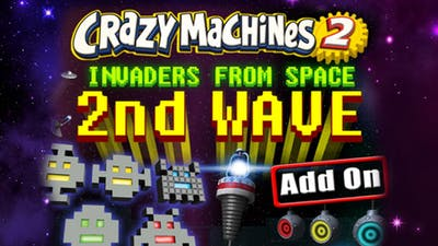 Crazy Machines 2: Invaders From Space, 2nd Wave DLC